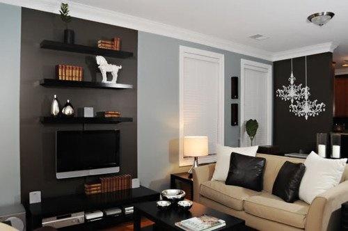 sch ne deko ideen f rs wohnzimmer. Black Bedroom Furniture Sets. Home Design Ideas
