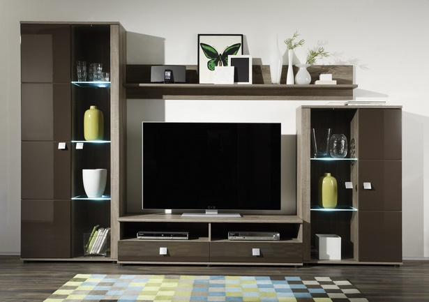 schrankwand dekorieren. Black Bedroom Furniture Sets. Home Design Ideas