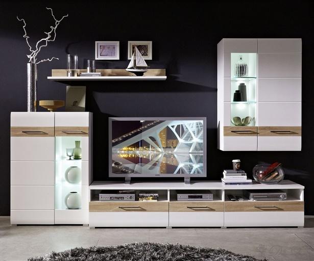 schrankwand dekorieren. Black Bedroom Furniture Sets. Home Design Ideas