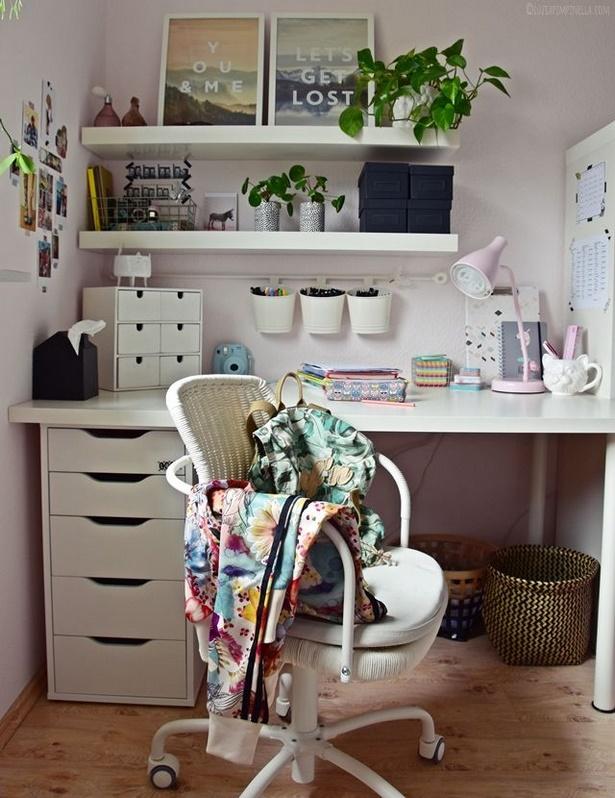 Schreibtisch deko ideen for Schreibtisch gestalten