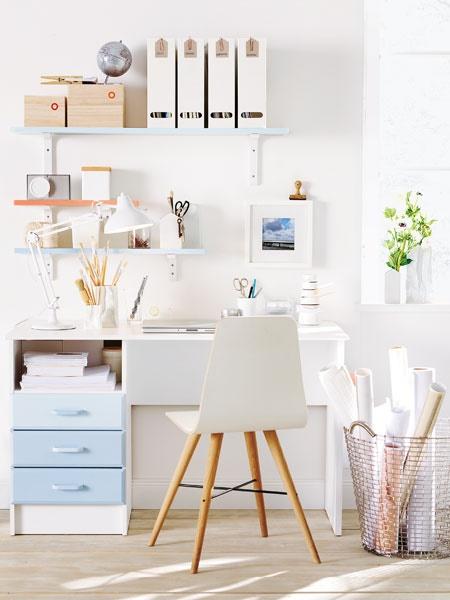 Schreibtisch deko ideen for Schreibtisch dekorieren diy