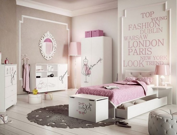 Tapete jugendzimmer m dchen for Idee per camere
