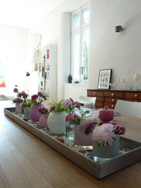 Tischdeko wohnzimmer for Wohnzimmertisch deko ideen