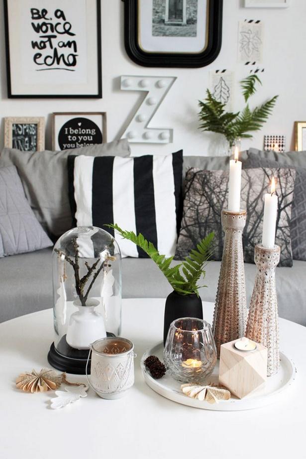 Tischdeko wohnzimmer for Zimmer deko herbst