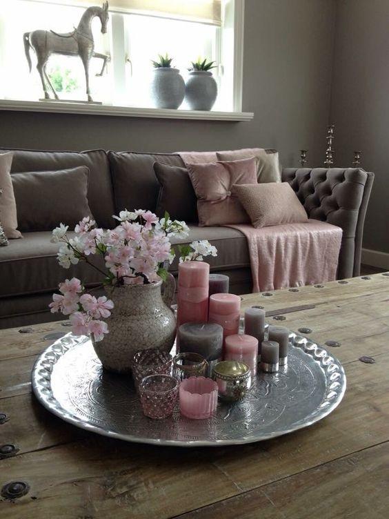 tischdeko wohnzimmer. Black Bedroom Furniture Sets. Home Design Ideas