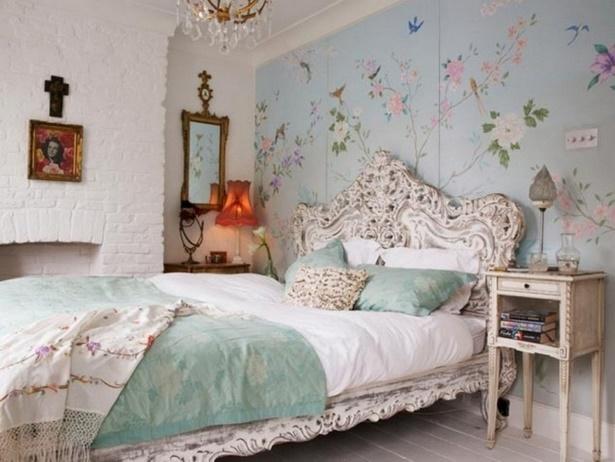 Vintage schlafzimmer deko for Zimmer deko blumen