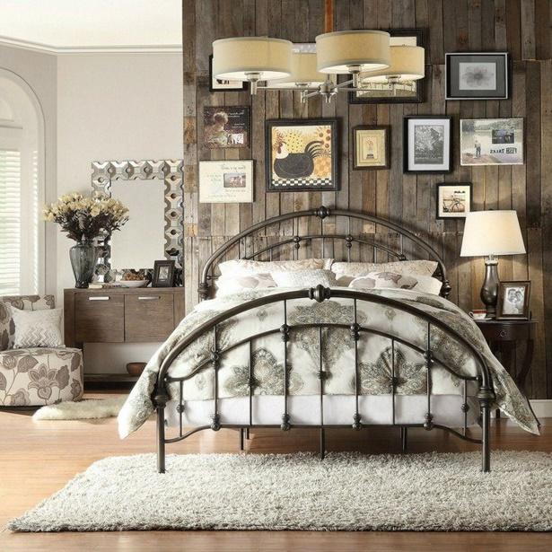 Wohnzimmer Deko Vintage: Vintage Schlafzimmer Deko