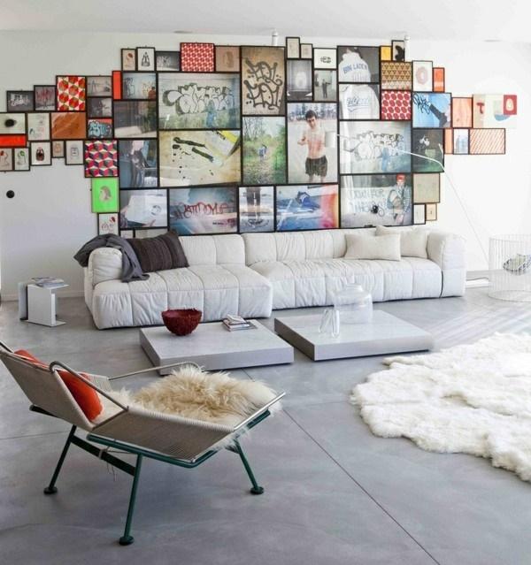 Wanddeko für wohnzimmer