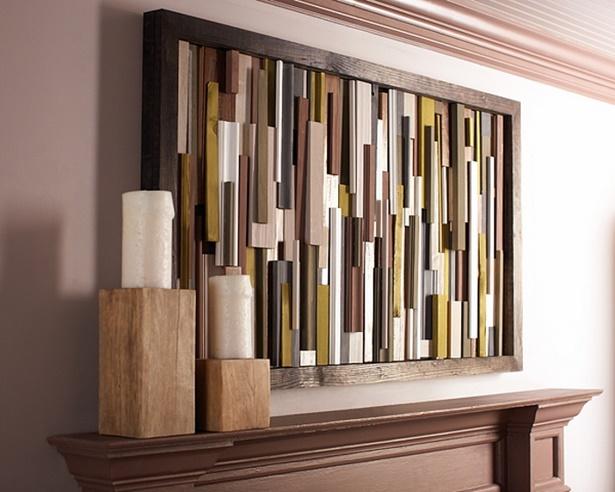Wohnzimmer Wand Holz ~ Wanddeko wohnzimmer holz