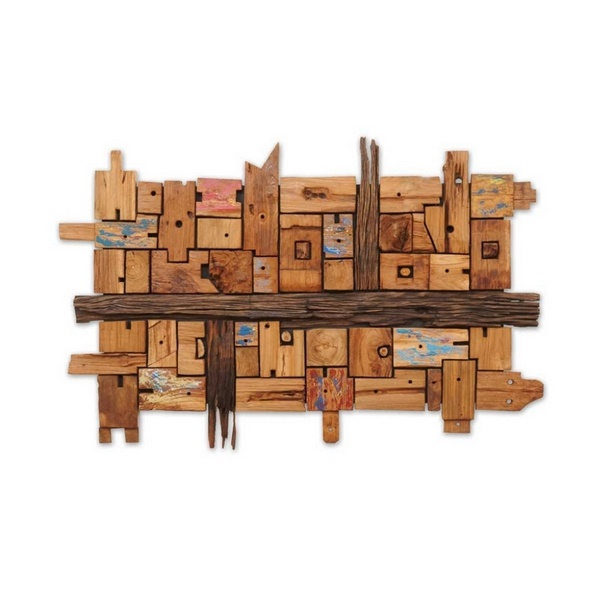 Wohnzimmer Design Holz: Wanddeko Wohnzimmer Holz