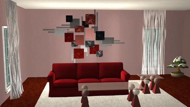 Wanddeko wohnzimmer modern for Wohnzimmer deko modern