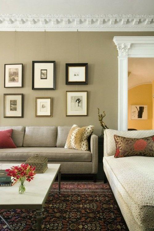 Wanddekoration wohnzimmer ideen - Wandgestaltung beispiele ...