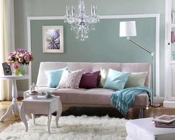 Wandfarben deko ideen - Streich ideen wohnzimmer ...