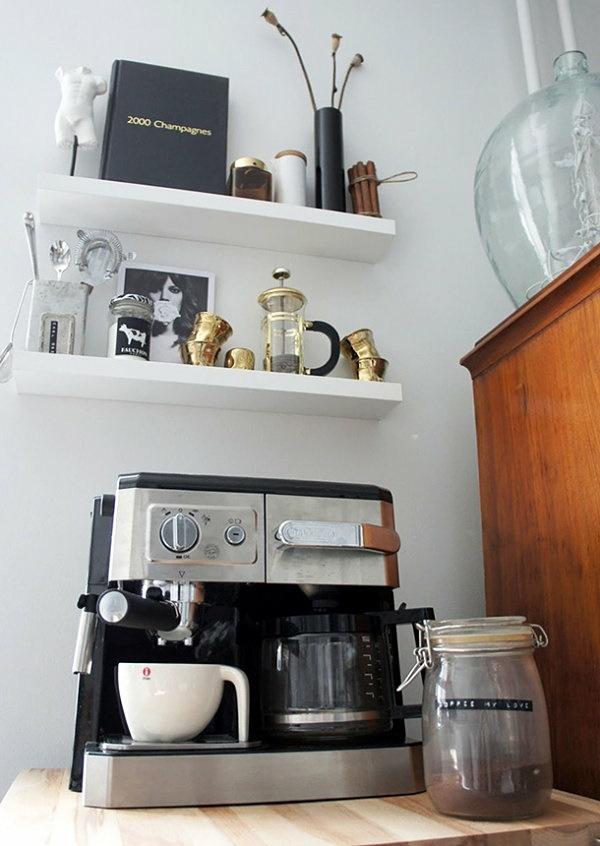 Wandregal wohnzimmer deko - Wandregal ideen ...