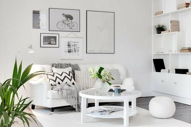 Wohnzimmer Deko Silber ~ Weiße deko wohnzimmer