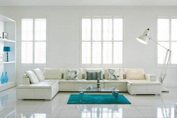 wei es wohnzimmer dekorieren. Black Bedroom Furniture Sets. Home Design Ideas