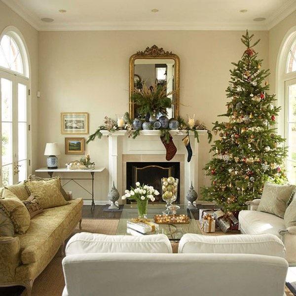 wohnung dekorieren weihnachten