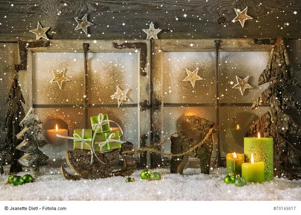 wohnung dekorieren weihnachten. Black Bedroom Furniture Sets. Home Design Ideas