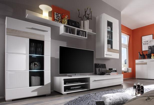 wohnwand dekorieren ideen. Black Bedroom Furniture Sets. Home Design Ideas