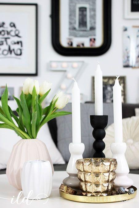 wohnzimmer deko gold. Black Bedroom Furniture Sets. Home Design Ideas