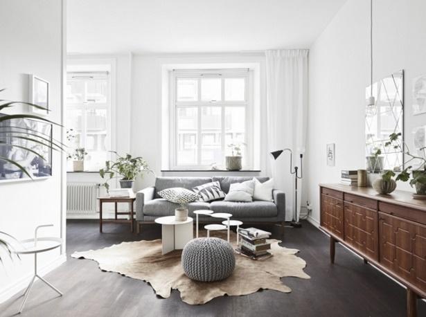 Wohnzimmer deko holz