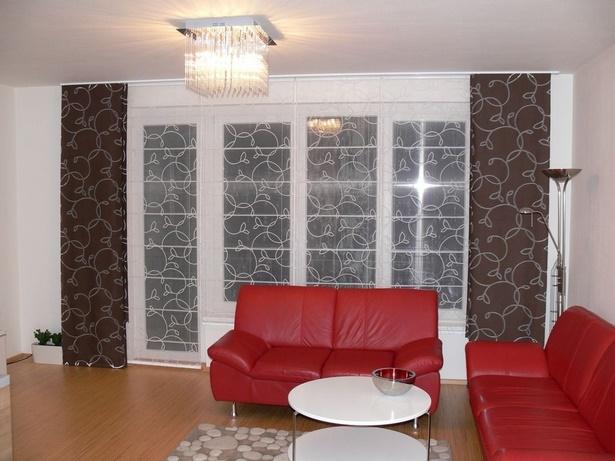 Wohnzimmer dekoration grau - Vorhange wohnzimmer grau ...
