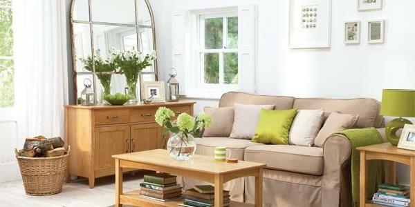 Wohnzimmer dekorieren gr n - Zimmer dekorieren ...