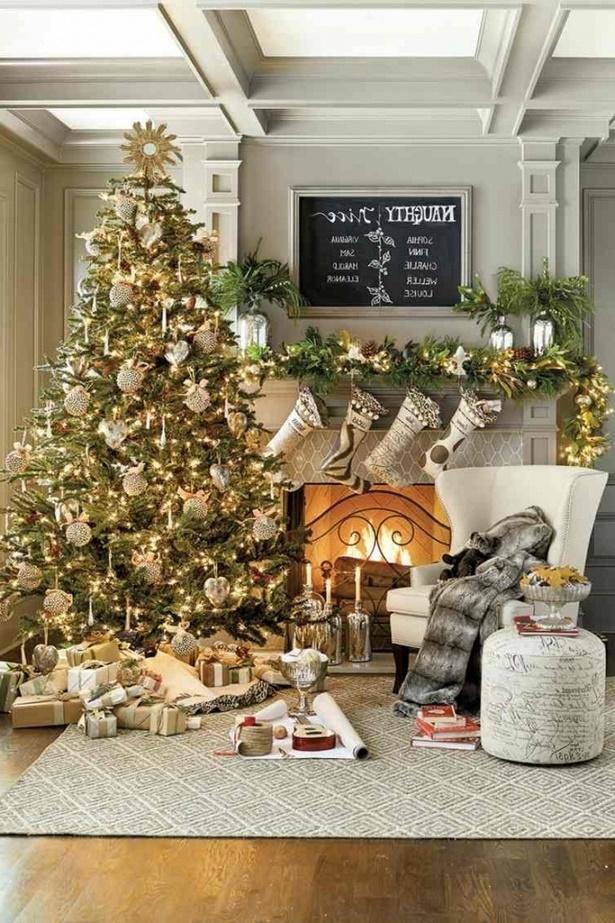 Wohnzimmer dekorieren weihnachten - Weihnachten dekorieren ...