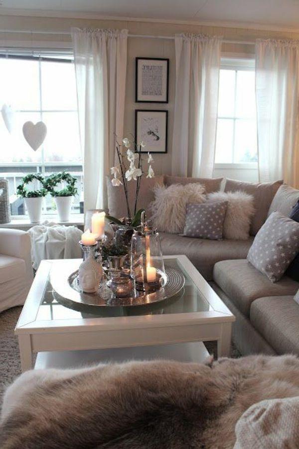 ideen wohnzimmer deko inspiration f r die. Black Bedroom Furniture Sets. Home Design Ideas