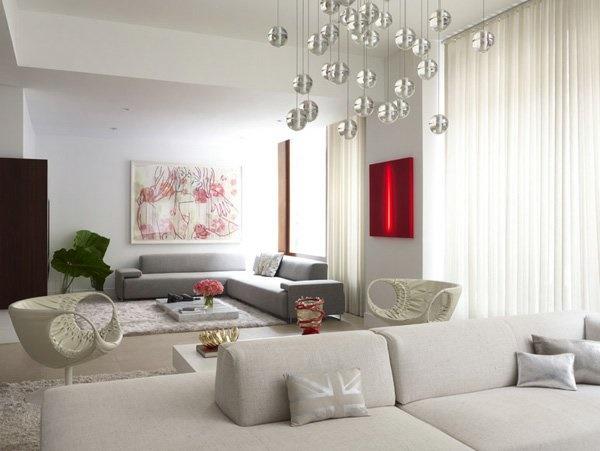 Wohnzimmer Modern Dekorieren