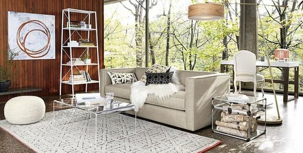 wohnzimmer regal deko