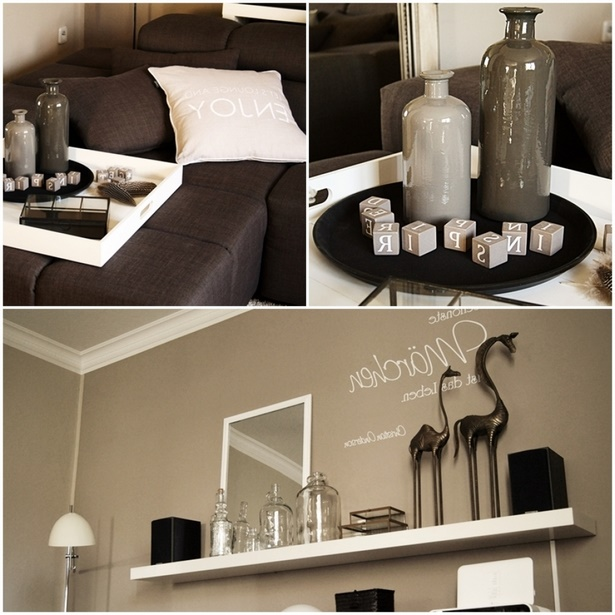 wohnzimmer regal dekorieren. Black Bedroom Furniture Sets. Home Design Ideas