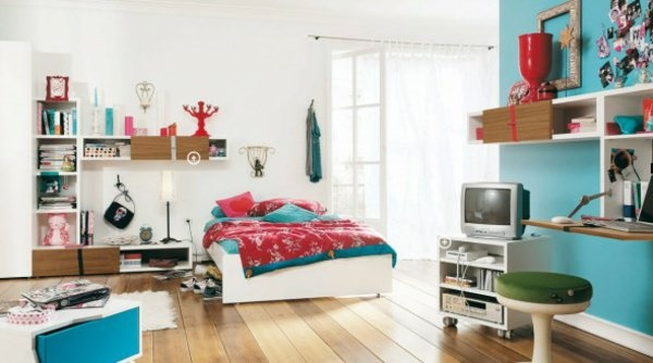zimmerdeko f r jugendzimmer. Black Bedroom Furniture Sets. Home Design Ideas