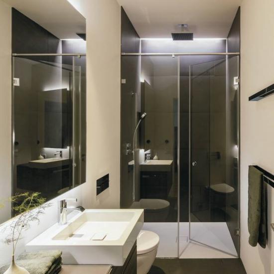 Bad ohne badewanne - Kleine badezimmer gestalten ...