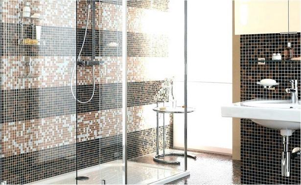 Badezimmer mosaik dusche