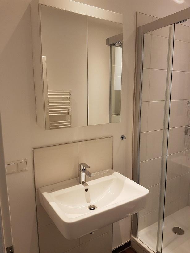 Badrenovierung kleines bad for Bad fliesen kleines bad
