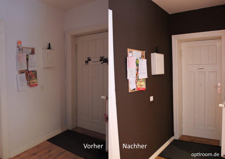 flur farbig streichen. Black Bedroom Furniture Sets. Home Design Ideas
