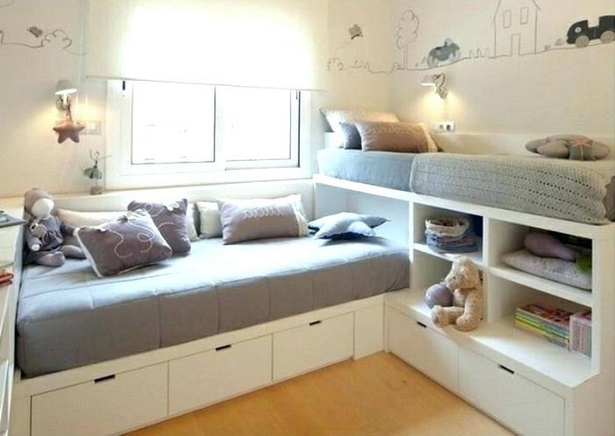 kinderzimmer f r kleine zimmer. Black Bedroom Furniture Sets. Home Design Ideas
