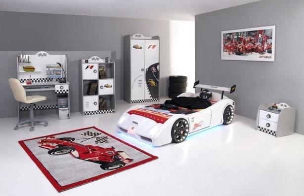 kinderzimmer junge auto. Black Bedroom Furniture Sets. Home Design Ideas