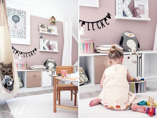 kinderzimmer kleinkind m dchen. Black Bedroom Furniture Sets. Home Design Ideas