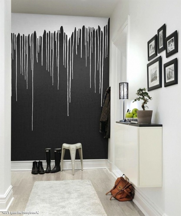 wanddeko ideen flur. Black Bedroom Furniture Sets. Home Design Ideas