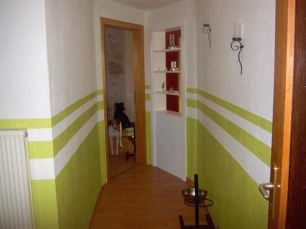 w nde streichen ideen flur. Black Bedroom Furniture Sets. Home Design Ideas