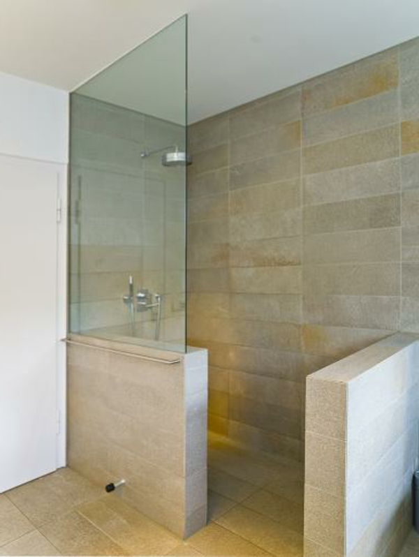 Begehbare dusche - Ebenerdige dusche fliesen ...
