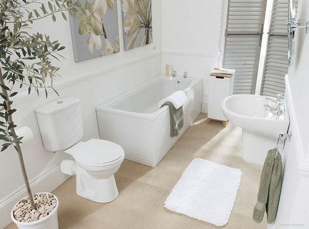 badezimmer wei e fliesen. Black Bedroom Furniture Sets. Home Design Ideas