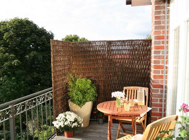 balkon sichtschutz pflanzen. Black Bedroom Furniture Sets. Home Design Ideas