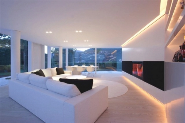 Die sch nsten wohnzimmer der welt for Minimalistische wohnungseinrichtung