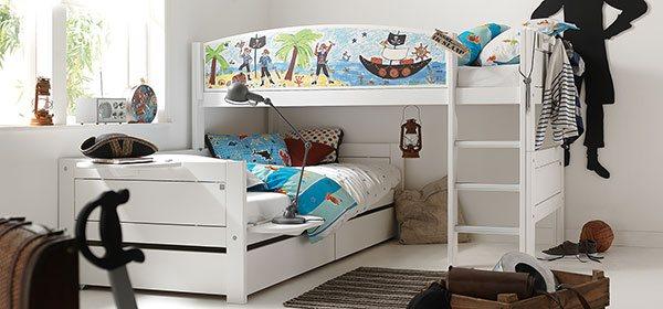 hochbett f r kleines kinderzimmer. Black Bedroom Furniture Sets. Home Design Ideas