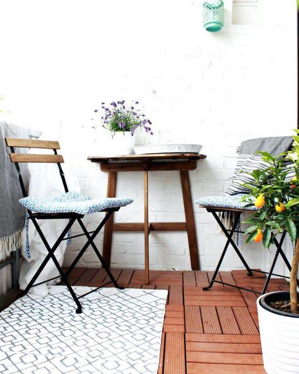ideen kleiner balkon. Black Bedroom Furniture Sets. Home Design Ideas