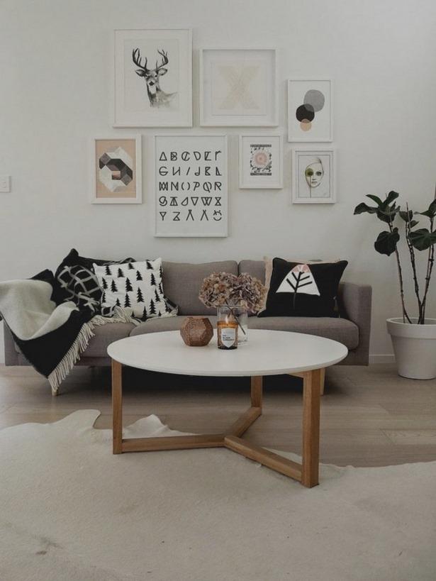 Ideen wanddekoration wohnzimmer