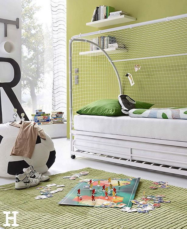 kinderzimmer fu ball ideen. Black Bedroom Furniture Sets. Home Design Ideas